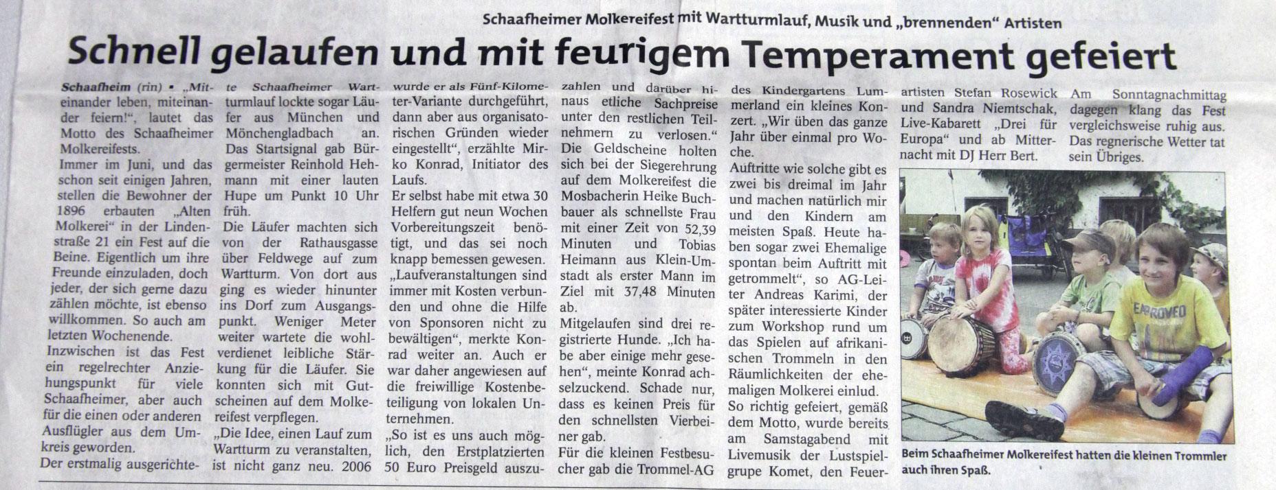 Stadtpost Babenhausen, 08.06.2011